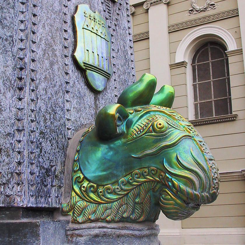 image from Fuente de porcelana de Zsolnay