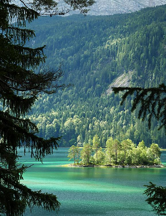 image from Lago Eibsee